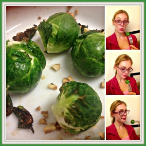 brussel sprouts collage